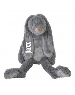 Happy Horse Rabbit Richie Deep Grey met naam bedrukt