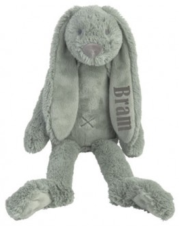 Happy Horse Rabbit Richie Stone Green met naam bedrukt
