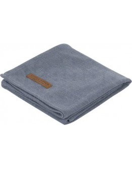 Little Dutch Swaddle doek Pure Blue 70 x 70 cm