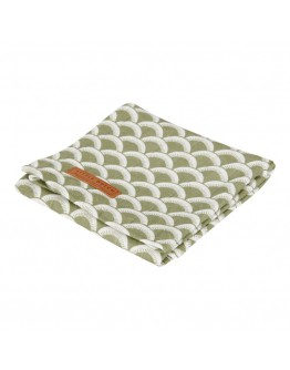 Little Dutch Swaddle doek Sunrise Olive 70 x 70 cm