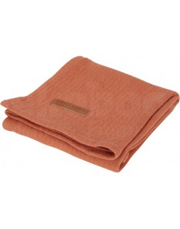 Little Dutch Swaddle doek Pure Rust 70 x 70 cm