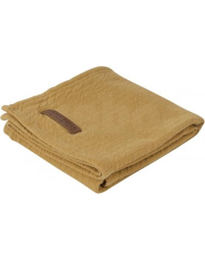 Little Dutch Swaddle doek Pure Ocher 70 x 70 cm