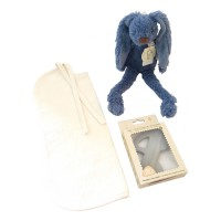 Kiekebooobox Rabbit Richie donkerblauw