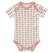 Fresk romper Leaves Pink