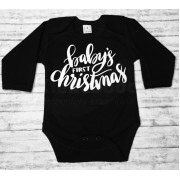Romper (lange mouw) baby's first christmas
